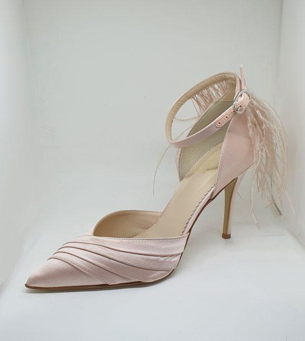 scarpa rosa cipria